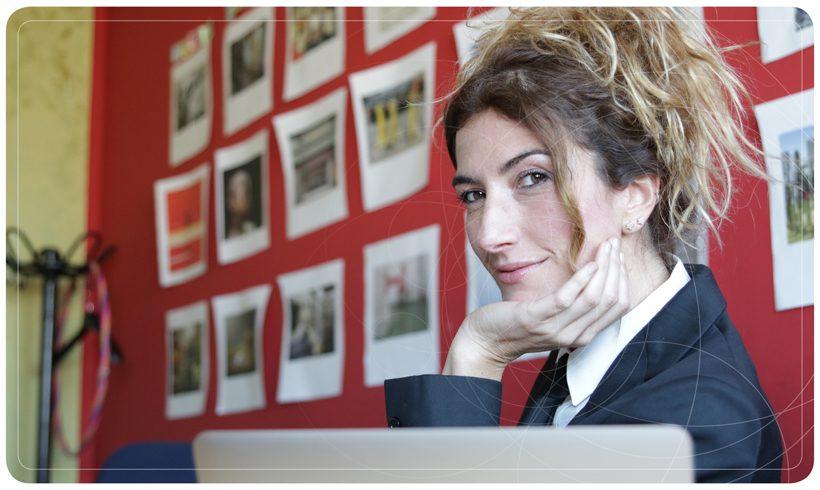 Nina Palmieri de Le Iene ospite di Biosalus Italia