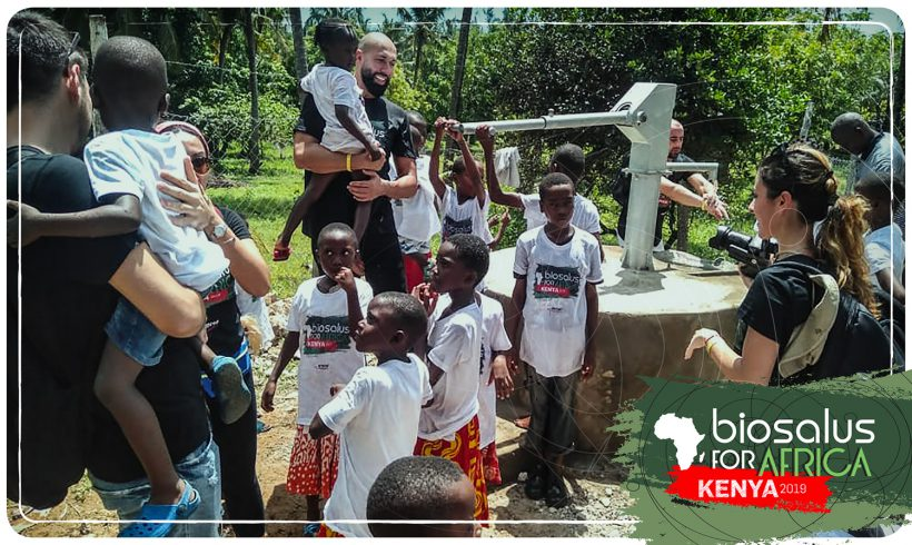 Biosalus for Africa: a novembre un nuovo pozzo d'acqua potabile in Kenya