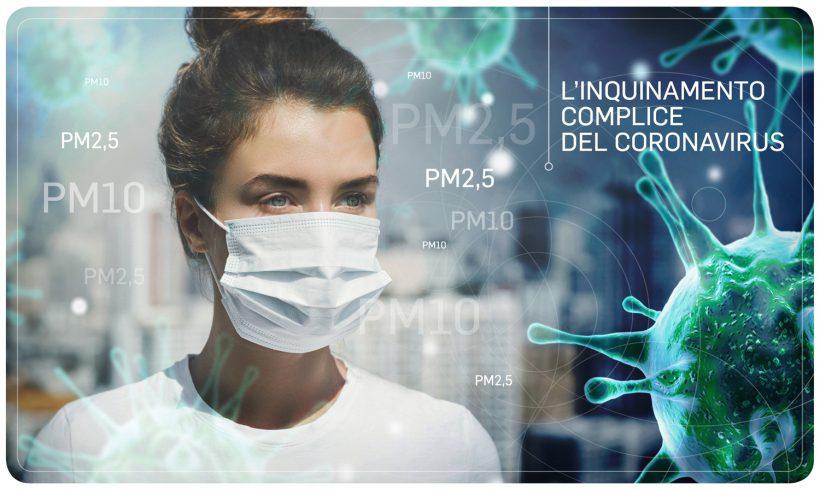 CORONAVIRUS: L'INQUINAMENTO COMPLICE  DEL VIRUS, ANCHE IN CASA