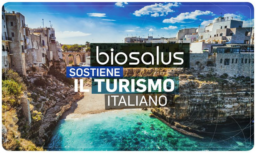 BIOSALUS SOSTIENE IL TURISMO ITALIANO