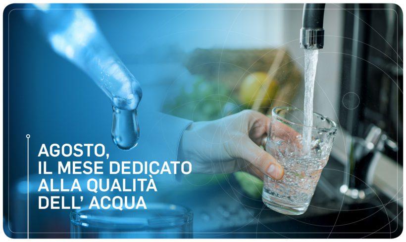 Agosto, il mese dedicato alla qualità dell'acqua