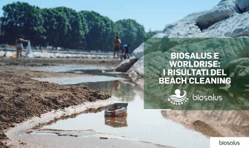 """Biosalus e Worldrise insieme per la salvaguardia dei mari Tre giorni di Beach Cleaning per il progetto """"spiagge pulite"""""""