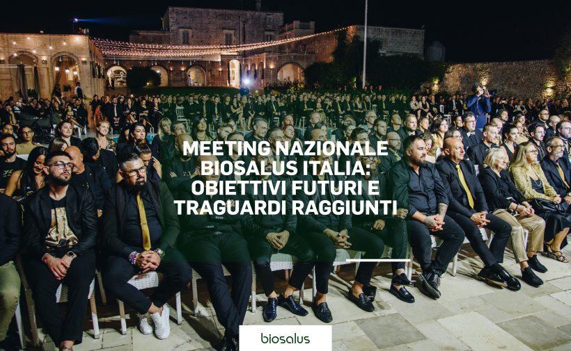 Meeting nazionale Biosalus Italia: obiettivi futuri e traguardi raggiunti